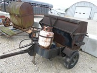 propane cooker on wheels