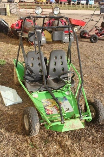 GO CART, HAS TECUMSEH POWER SPORT 6 0HP MOTOR, | Smith Sales LLC