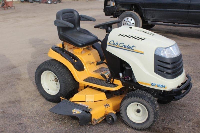 CUB CADET GT1554 RIDING LAWN MOWER | Smith Sales LLC