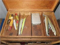 OFF-SITE (Police Evidence) Tackle Box w/Assorted L