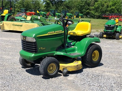 2001 john deere lt155 at tractorhouse com