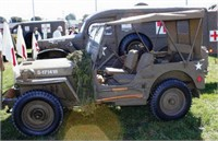 WWII 1942 WILLYS MB US ARMY MASH JEEP