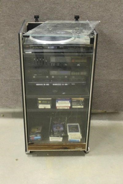FISHER STEREO SYSTEM - CASSETTE PLAYER, | Smith Sales LLC