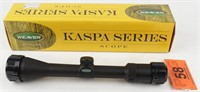 Weaver Kaspa 3-9x40mm 849807 Tactical Riflescope