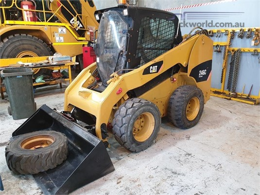 2011 Caterpillar 246C Heavy Machinery for Sale