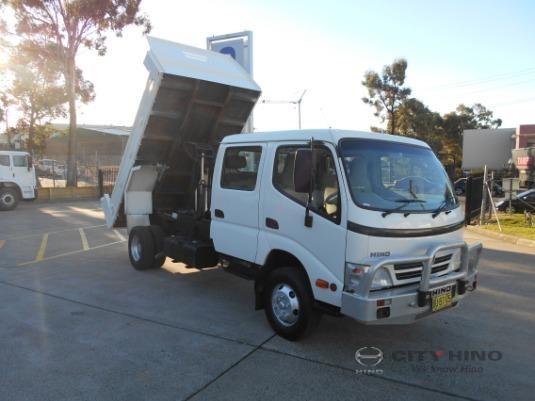 2009 Hino 300 Series 816 Crew Auto City Hino - Trucks for Sale
