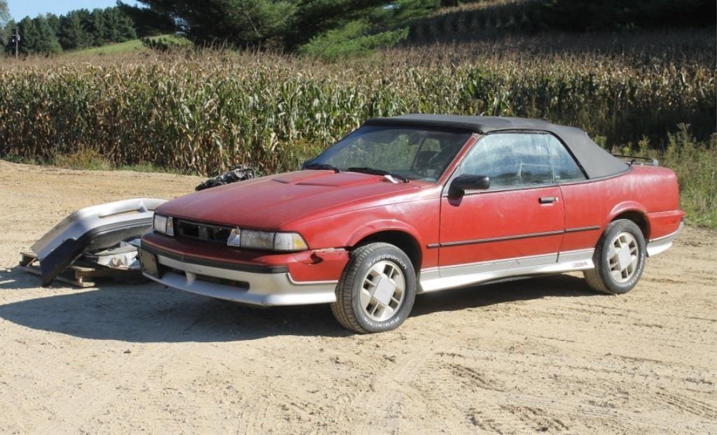 1988 Chevrolet 1G1JF31W1J7232390 Cavalier Z24   HiBid Auctions