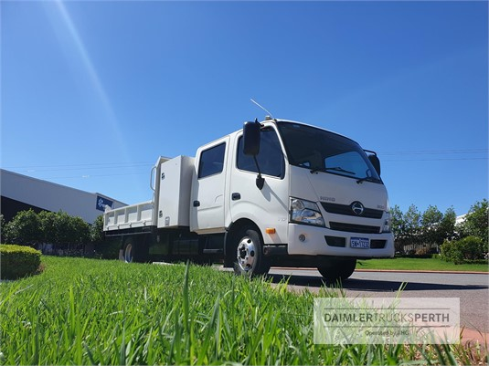 2012 Hino 300 Series 717 Crew Daimler Trucks Perth - Trucks for Sale