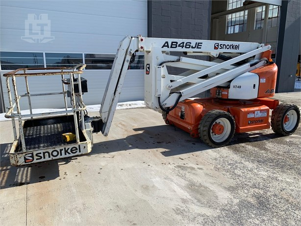 SNORKEL AB46J Boom Lifts For Sale - 2 Listings | LiftsToday