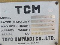 1984 TCM Forklift