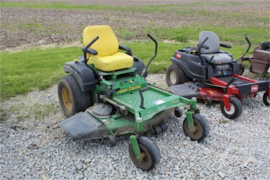 JOHN DEERE Zero Turn Lawn Mowers Auction Results - 558