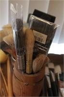 Assorted Wash Brushes & Hardware Paint Brushes