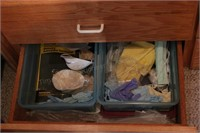 Art Accessories Drawer Contents