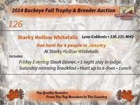 2015 Buckeye Fall Trophy Auction