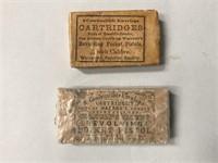 Cartridge Pouch & Cartridges Civil War