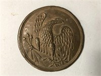 Heradelic Eagle Shoulder Button