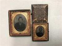 Antique Photos in Ornate Frames