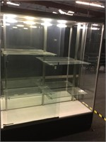 Display Case Front Loading W / Lights