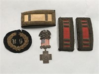 Spanish War Veterans Metal 1898 - 99 & Civil War