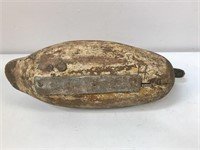 Wooden Antique Weighted Duck Decoys