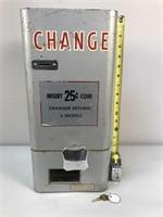 25 Cent Standard Change-Maker Inc Wall Mount