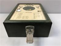 Pot Luck Vintage Tabletop Arcade Game W/ Key