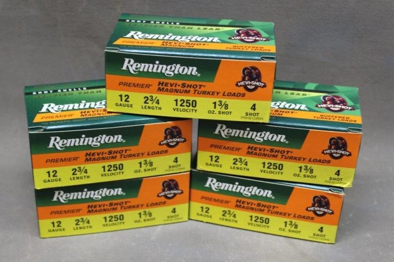 5) REMINGTON HEAVY SHOT TURKEY LOADS 12GA   Smith Sales LLC