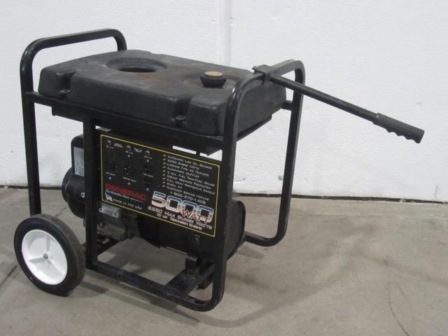 Generac 5000W Generator- 6250 Max Surge Watts,   United