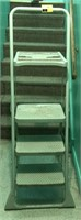 3 step, step ladder