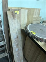 Lot of wood and patterns