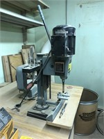 Delta Hollow Chisel Mortiser comes with cabinet