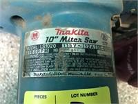 """Makita 10"""" Miter Saw, Model LS1020, 115v"""