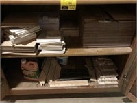 Lot of tile and mortar
