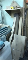 Large lot of patterns and mixed wood