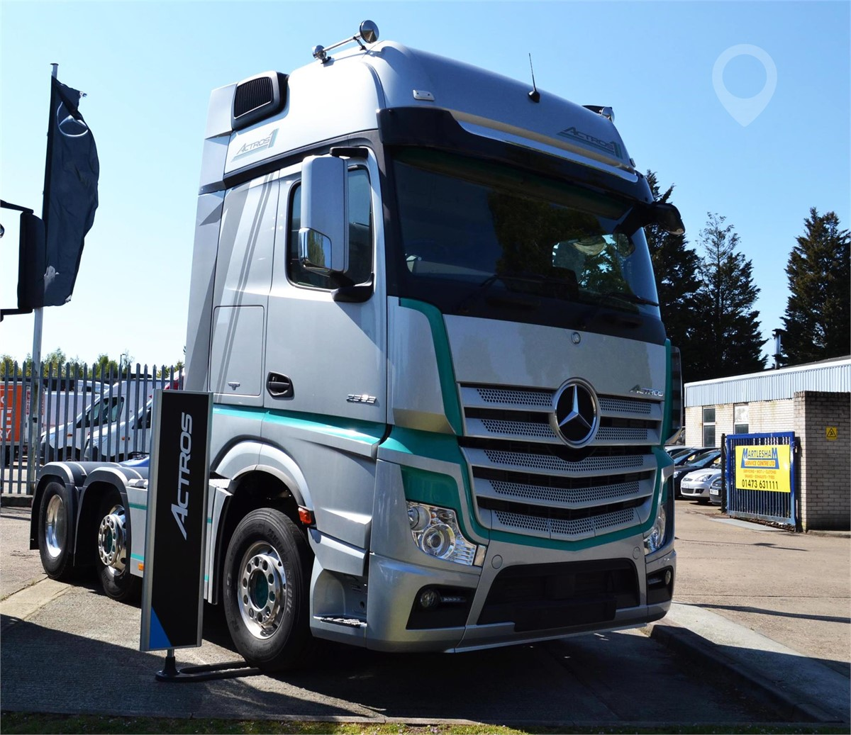 New 2019 MERCEDES-BENZ ACTROS 2563 For Sale In Ipswich