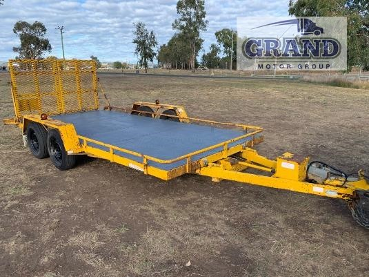 2006 Dean Tandem Plant Trailer Grand Motor Group - Trailers for Sale