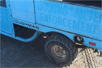 Cushman 3-Wheeler, Starts & Runs, Key in Office,