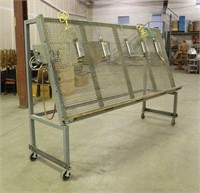 """Pneumatic Face Frame Clamp, Approx 118""""x36""""x76"""","""