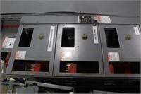 Square D Motor Control Center w/Copper Bars & (15)