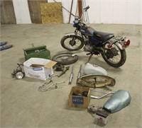 1972 Yamaha Enduro Motorcycle