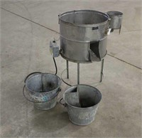 Walter Kelley Stainless Honey Wax Melter w/(2)