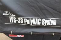 Brinly 10 Cu Ft LVS-33 PolyVac System Briggs