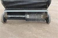 "Agri-Fab 38"" Lawn Sweeper, Works Per Seller"