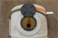 25-Gallon Water Tank w/Hose & Mounting Board