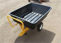 Yardworks 8 Cu Ft Lawn Cart