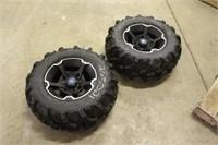 (2) ITP Mud Lite XTR 27x11.00R14 Take Off Tires