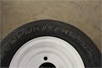 (2) Carlisle Trailer Tires w/Rims 4.80-8, Unused &