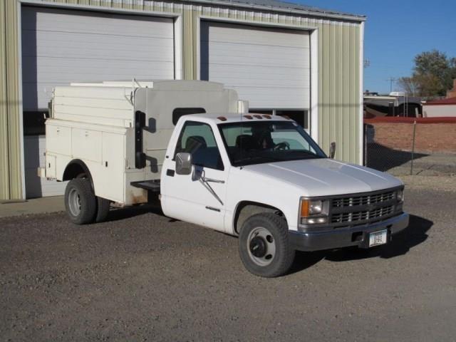 1998 Chevy 3500 Service Truck, 6 5L turbo diesel, | Musser
