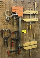 Lot of varies clamps
