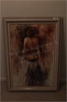 Brannon - Study on Human Form Oil On Canvas Art